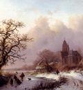 Kruseman Fredrik Marinus A Frozen Winter Landscape
