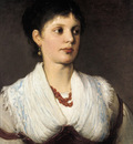 Max Gabriel von A portrait of a woman in native costume