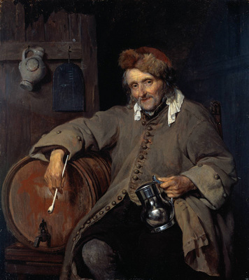Metsu Gabriel The Old Drinker