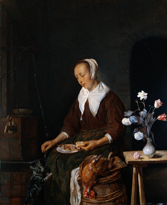 Metsu Gabriel Woman Eating