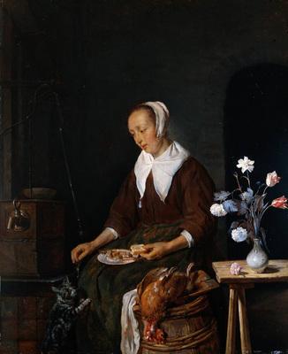 Metsu Gabriel Woman Eating