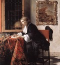 METSU Gabriel Man Writing A Letter