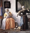 METSU Gabriel Woman Reading A Letter