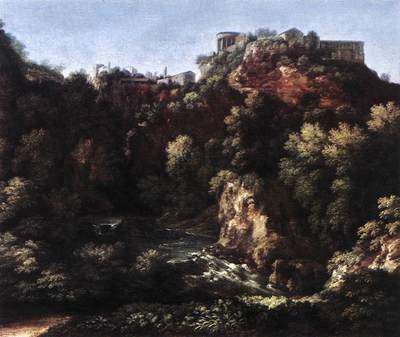 DUGHET Gaspard View of Tivoli