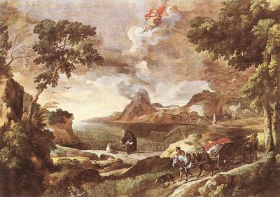 Landscape with St Augustine and the Mystery WGA