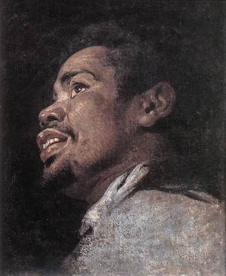 CRAYER Gaspard de Head Study Of A Young Moor