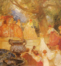 Touche Gaston de la Visit of the Princess Royal