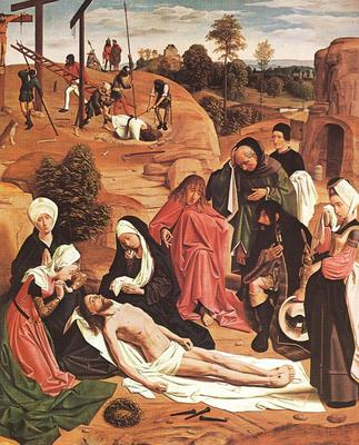 GEERTGEN tot Sint Jans Lamentation Over The Dead Christ