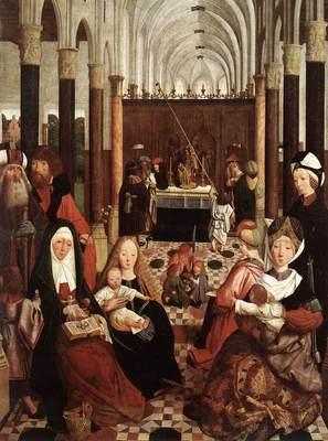 GEERTGEN tot Sint Jans The Holy Kinship