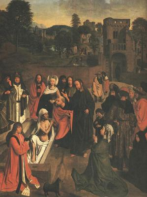 GEERTGEN tot Sint Jans The Raising Of Lazarus