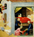 GENTILE DA FABRIANO Quaratesi Altarpiece Poor Maidens