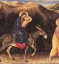 GENTILE DA FABRIANO Rest During The Flight Into Egypt