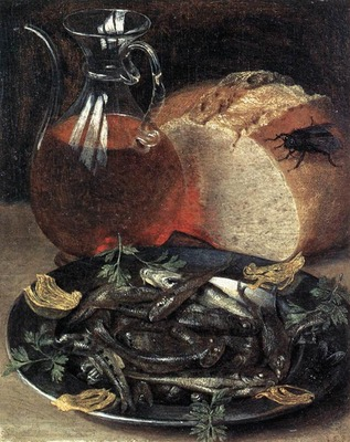 FLEGEL Georg Still Life With Fish