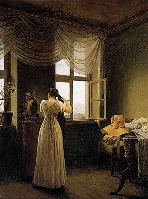 KERSTING Georg Friedrich At The Mirror