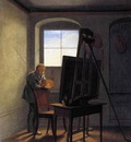 kersting georg friedrich caspar david friedrich in his studio