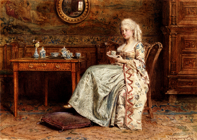 Kilburne George Goodwin Taking Tea