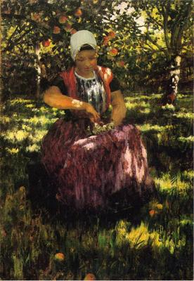Hitchcock George In the Orchard