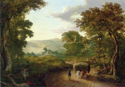 Inness George Berkshire Hills