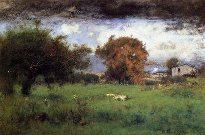 Inness George Early Autumn Montclair2