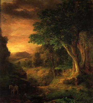 Inness George In the Berkshires