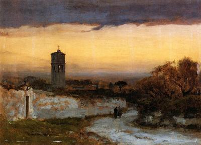 Inness George Monastery at Albano
