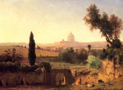 Inness George St  Peter s Rome