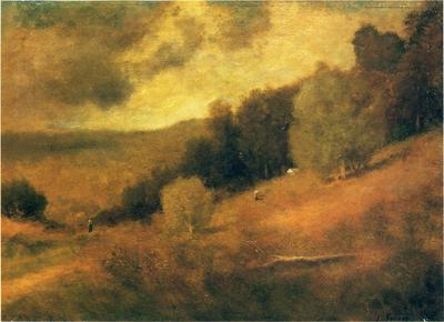 Inness George Stormy Day
