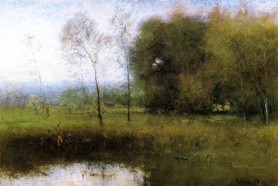 Inness George Summer Montclair aka New Jersey Landscape
