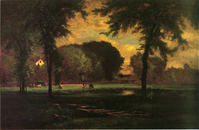 Inness George The Pasture