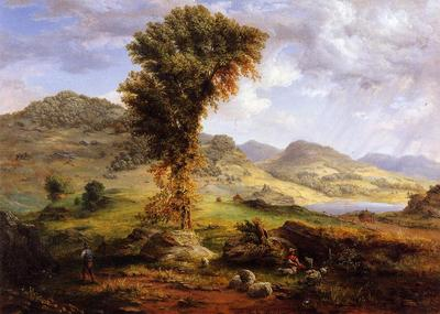 Inness George The Sun Shower