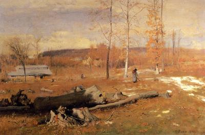 Inness George Winter Morning Montclair