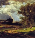 Inness George A Passing Shower