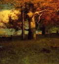 Inness George Early Autumn Montclair