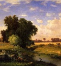 Inness George Hackensack Meadows Sunset