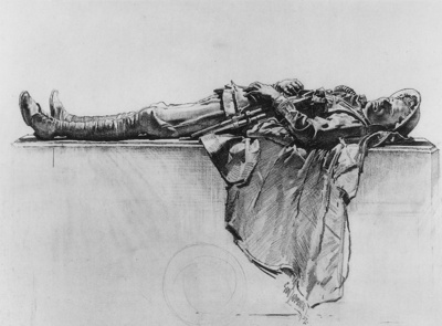 Lambert Recumbent Figure of a Soldier