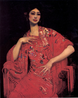 Lambert The Red Shawl