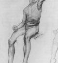 Lambert Seated Boy drawing
