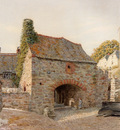 Boyce George Price Old Buildings At Kingswear South Devon