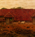 Boyce George Price The Old Barn At Whitchurch