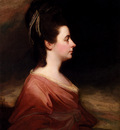 Romney George Portrait Of Harriet Gale