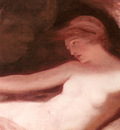 Romney George Reclining Female Nude