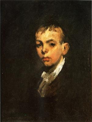 Bellows George Wesley Head of a Boy aka Gray Boy