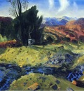 Bellows George Wesley Autumn Brook