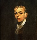 Bellows George Wesley Head of a Boy aka Gray Boy