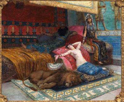 ROCHEGROSSE Georges L esclave et le lion