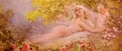 Clairin Georges Jules Victor A Brides Fantasy