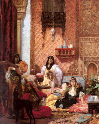 Clairin Georges Jules Victor The Sultans Favorites