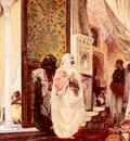 Clairin Georges Jules Victor Entering The Harem