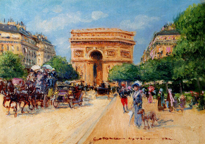 Stein Georges A Sunny Day In Paris