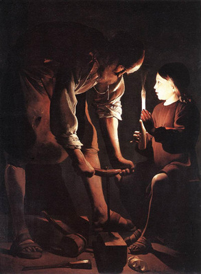 Christ in the Carpenters Shop WGA
